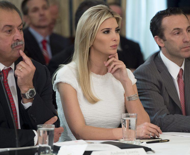 <p>9 Times Ivanka Trump Has Worn Her Brand Since Its Debut on the Political Stage a Year Ago </p>
