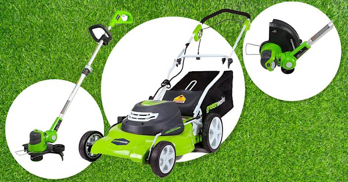 Invest in a healthy lawn in time for spring. (Photo: Amazon)