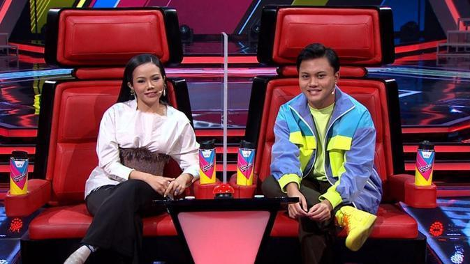 Rizky Febian di Babak Blind Audition The Voice Kids Indonesia Season 4. (Ist)