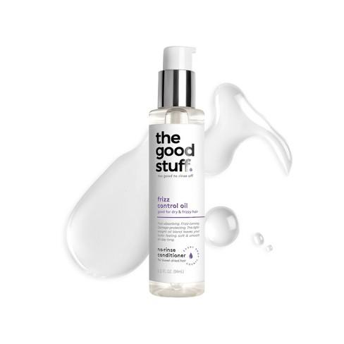 The Good Stuff is an affordable hair care brand that makes no-rinse conditioners for all hair textures.