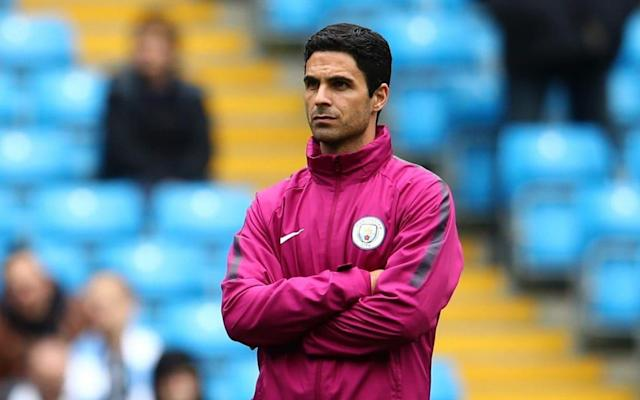 Mikel Arteta has emerged as the strongest rival to Max Allegri for the Arsenal job with the club moving closer to settling on a preferred candidate. Arsenal have been working through a long list of names that included Luis Enrique, Patrick Vieira, Julian Nagelsmann, Joachim Low and Jorge Sampaoli, but that has now been cut. Sources believe that the race to succeed Arsene Wenger is being led by ex-Arsenal captain Arteta and Allegri, with chief executive Ivan Gazidis and Josh Kroenke, son of majority shareholder Stan, now weighing up who to approach. Telegraph Sport revealed in December how Arteta, who has been working as Pep Guardiola's assistant at Manchester City, was viewed as a future Arsenal manager and Wenger takes charge of his last Gunners game against Huddersfield Town on Sunday. City would fight to try to keep Arteta, who is treasured by Guardiola, and could offer him a new contract, but they are unlikely to stand in his way if he is offered the Arsenal job and expresses a desire to take it. Arteta is viewed as a key part of Guardiola's coaching staff Credit: OFFSIDE Allegri's management CV with Juventus makes him a strong contender, but there is a growing feeling that Arteta may fit Arsenal's structure better and that his knowledge of the club and the Premier League makes up for his relative inexperience. There have been talks within the club over how a young coach could help energise the Gunners and 36-year-old Arteta is 14 years younger than Allegri. There also remains a fear that, despite his desire to work in England, Allegri will ultimately opt to stay one more year at Juventus or hold out for a more lucrative Premier League job. Wenger's successor will only have a transfer budget of £50million to work with this summer, as well as any money he can raise from sales. Allegri and Juventus won the Coppa Italia final this week against AC Milan Credit: AFP That is significantly less than the likes of Allegri or Enrique would expect to be given to try to turn Arsenal into Premier League challengers, but Arteta is already aware of the financial restrictions at the Emirates. Other than being highly rated by Gazidis, Arteta is close to Per Mertesacker, who is taking over as Academy manager and who will be expected to work closely with Arsenal's next first-team manager. The obvious risk in going for Areta is the fact Arsenal would be his first job in management, but the Kroenkes have already proved they are willing to trust an inexperienced candidate. Stan and Josh Kroenke have seen 32-year-old coach Sean McVay succeed with their NFL club, Los Angeles Rams and may see that as a blueprint for Arsenal. McVay became the youngest head coach in NFL history, when, aged 30, he was handed the LA Rams job in January 2017.