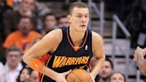 <p>Andris Biedriņš's contract with the Golden State Warriors amounted to almost $9 million a season during a period where he averaged just 4.1 points a game.</p> <p>Biedriņš averaged a double-double in his first season on the deal — so he wasn't a total bust — but the 7-footer ended up following a familiar path of injury problems. He would only play in a little over half of the games he signed for, and his production in those simply didn't live up to the original deal.</p> <p><small>Image Credits: Christian Petersen / Getty Images</small></p>