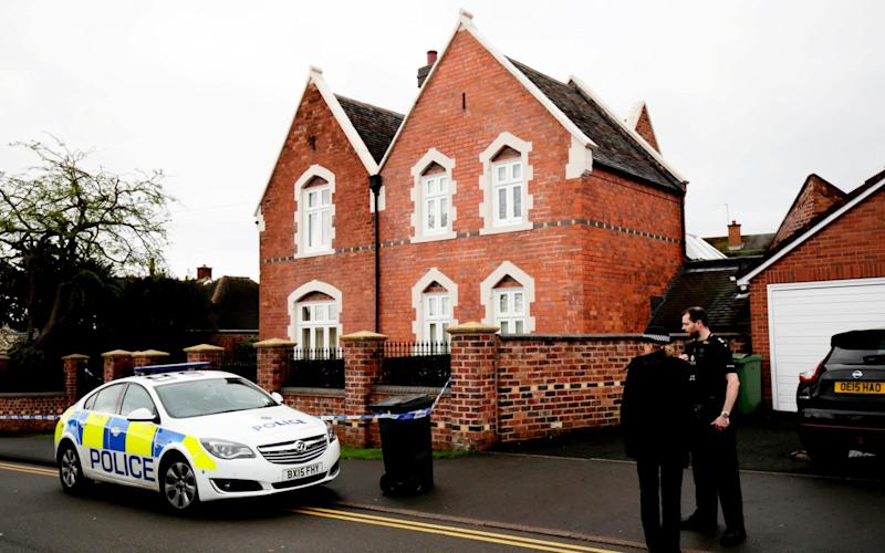 Police were called to an address in Stourbridge on Thursday morning to reports of a triple stabbing - Credit: SWNS
