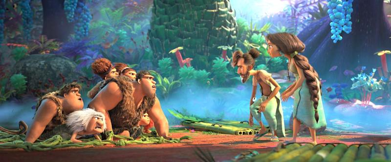 Croods 2 trailer - stone age family return but a new family are on the scene