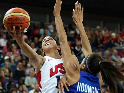 The U.S. women's basketball team routed France 86-50 in the final Saturday, collecting their fifth straight Olympic gold medal. The win was the latest in a dominant run that dates back to 1996.(Aug. 11)