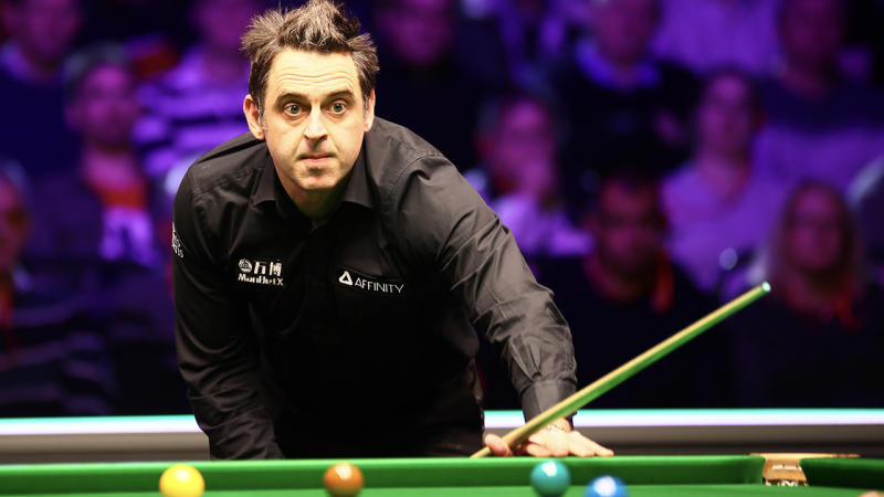 Ronnie O'Sullivan, pictured here in action at the Welsh Open in February.