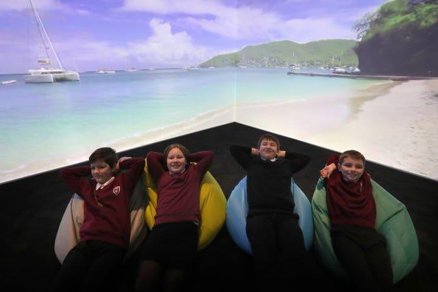 Immersive classroom opens in Cumbernauld