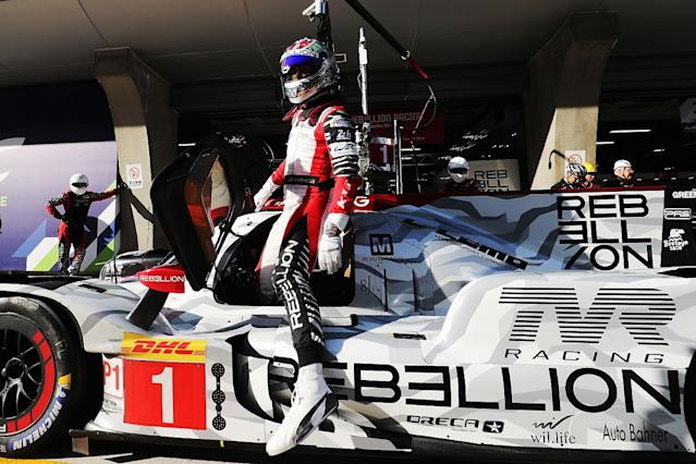 Rebellion on pole, Toyota off the pace
