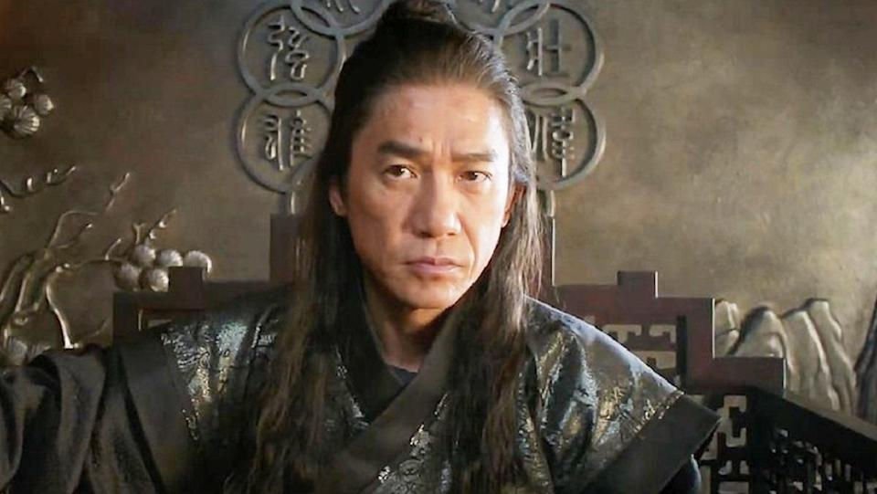 Tony Leung as the Mandarin in Shang-Chi and the Legend of the Ten Rings.