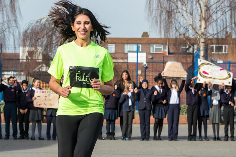 Sana Khan: 'I am so proud to be part of the team and the children are so excited': Alex Lentati