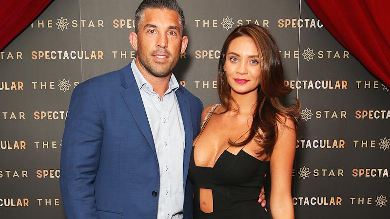 Braith Anasta and Rachael Lee, pictured here at The Star Spectacular Soiree in 2017.