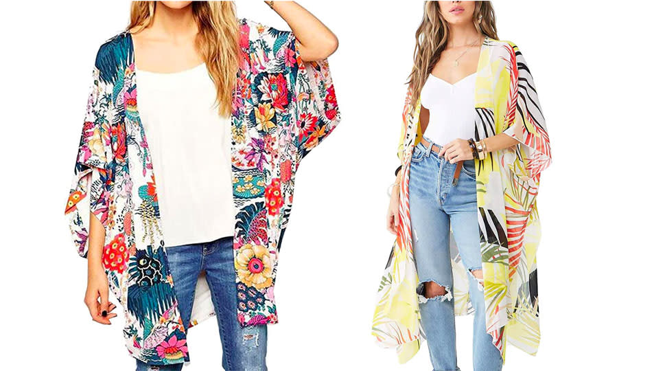 The Relipop kimono is on sale for up to 58 percent off. (Photo: Amazon)