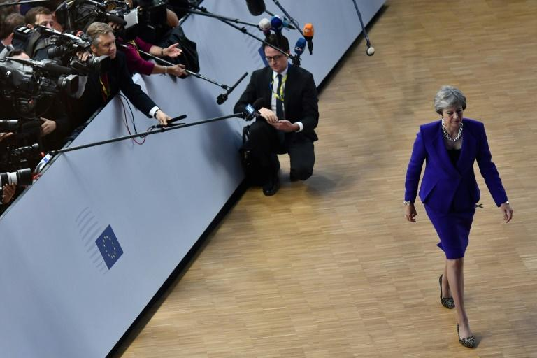 Talks between Britain's Prime Minister Theresa May and EU leaders ended Thursday without major breakthroughs