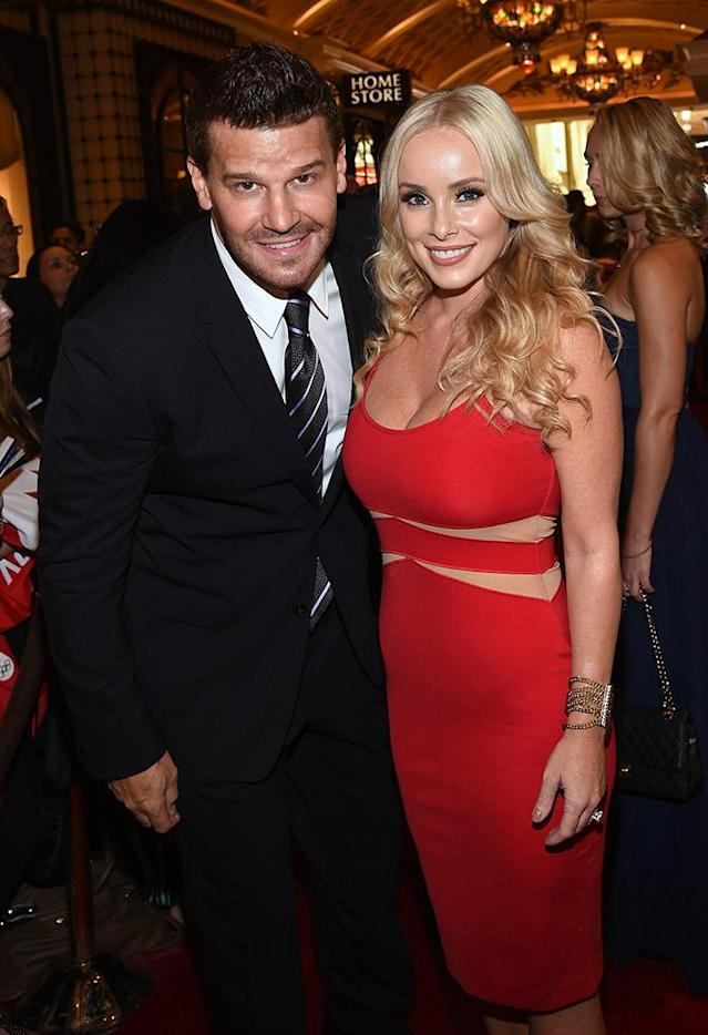 "<p>After a former flame attempted to blackmail him for money, the Angel star publicly admitted to cheating on his wife nearly a decade after they first wed. ""I haven't been faithful to my wife,"" the actor <a href=""http://people.com/archive/bones-david-boreanaz-yes-i-cheated-vol-73-no-19/"" rel=""nofollow noopener"" target=""_blank"" data-ylk=""slk:admitted to People"" class=""link rapid-noclick-resp"">admitted to <em>People</em></a>. ""Our marriage has been tainted with my infidelities. I was irresponsible."" The couple put on a united front and claimed they were dealing with the issues privately; however, they were forced to come forward after an extortion attempt. ""There's anger. There's hurt. There's disgust. But there is a love,"" added Bergman. ""For me to walk away from that, I don't think would be the right thing to do."" Seven years later and the couple is still going strong. (Photo: Ethan Miller/Getty Images) </p>"