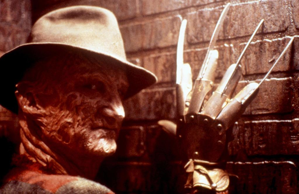"1. Freddy Krueger, <a href=""http://movies.yahoo.com/movie/1802816835/info"">A Nightmare on Elm Street</a>   With a ghastly bladed glove, a dingy red-and-green striped sweater, and a disfigured face only a mother could love, Freddy Krueger -- a child murderer who manipulates teenage dreams from beyond the grave -- continues to terrify people of all ages nearly 25 years after claiming his first on-screen victim, Tina Grey, in 1984's Wes Craven classic, ""A Nightmare on Elm Street."""