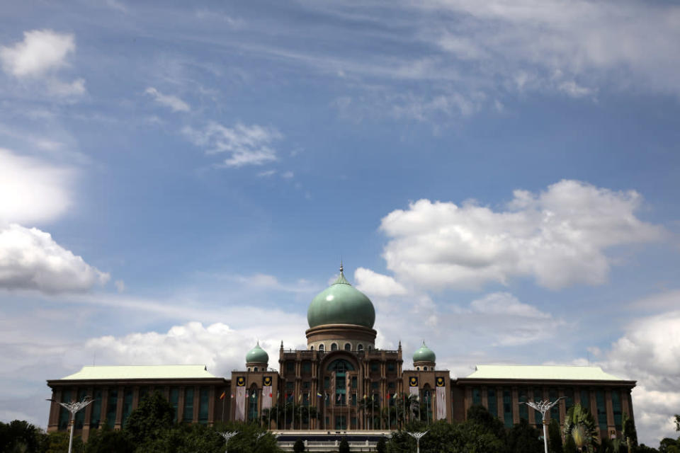 A general view of the Prime Minister's Office in Putrajaya, September 24, 2020. — Reuters pic