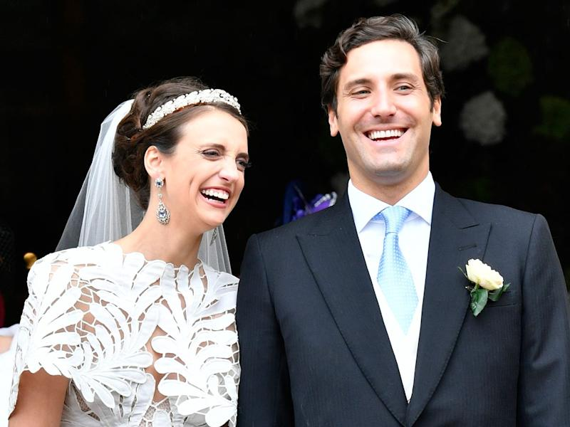 Napoleon's heir marries in spectacular royal wedding in Paris