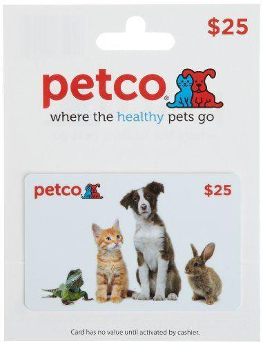 """<p><strong>Petco</strong></p><p>amazon.com</p><p><strong>$25.00</strong></p><p><a href=""""https://www.amazon.com/dp/B00BXLVFAO?tag=syn-yahoo-20&ascsubtag=%5Bartid%7C10050.g.25632110%5Bsrc%7Cyahoo-us"""" rel=""""nofollow noopener"""" target=""""_blank"""" data-ylk=""""slk:Shop Now"""" class=""""link rapid-noclick-resp"""">Shop Now</a></p><p>We can't think of a more purr-fect gift for the pet lover in your life. They'll be able to stock up on supplies for all of their animals!</p>"""