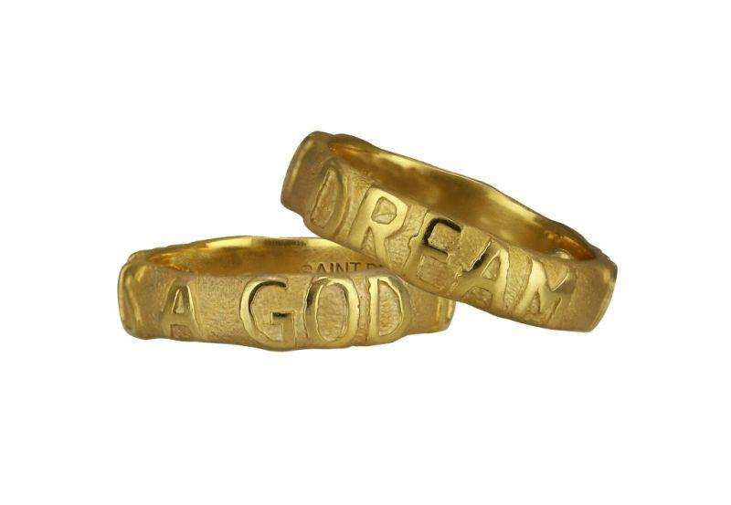 """<p>18k yellow gold ring, weight: 10.4g, various sizes. <br />(Photo: <a rel=""""nofollow"""" href=""""https://yeezysupply.com/products/s4001"""">Yeezy Supply</a>) </p>"""