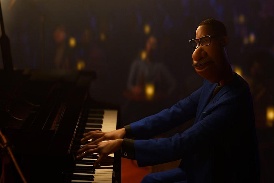 <p>Pete Docter, the Pixar director whose previous films Up and Inside Out probably left you a blubbering wreck, is back with Soul, another heart-tugging feature for the studio. It is shaping up to be a fantastic day for the middle-aged band teacher Joe (voiced by Jamie Foxx) when he is finally offered a once-in-a-lifetime career break: the opportunity to play piano alongside the legendary saxophonist Dorothea Williams (Angela Bassett). The only snag is, as Joe races across New York to get a new suit, he falls down a manhole and dies. From there, he is untethered in a strange, pastel-hued afterlife. His only hope of being reunited with his body, and performing in the gig, is by helping the unborn soul 22 (an apathetic Tina Fey) find the spark she needs to start her existence on Earth. Like Docter's predecessors, Soul packages up big philosophical questions – about mortality and life's purpose – in an inventive, family-friendly way that appeals to every generation. The photorealistic animation, capturing autumn leaves scuttling along pavements and ties fluttering in the breeze, is exquisitely rendered, and reminds us of all the beauty life has to offer. </p><p>'Soul' will be available on Disney+ from 25 December. </p>