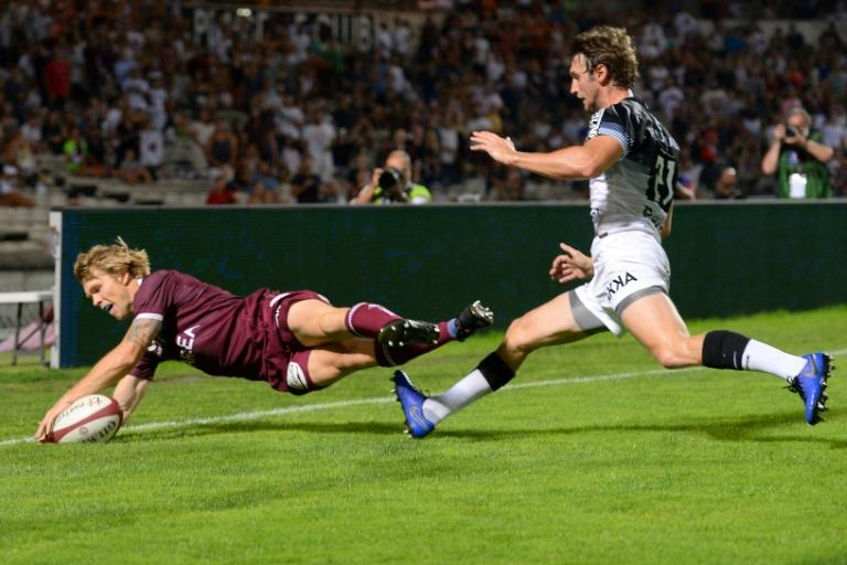 Australian Blair Connor has been with Bordeaux-Begles since 2010 (AFP Photo/NICOLAS TUCAT)