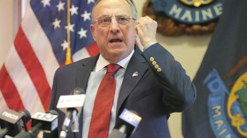 Maine Gov. Paul LePage 'Probably' Won't Certify Primary Election Results