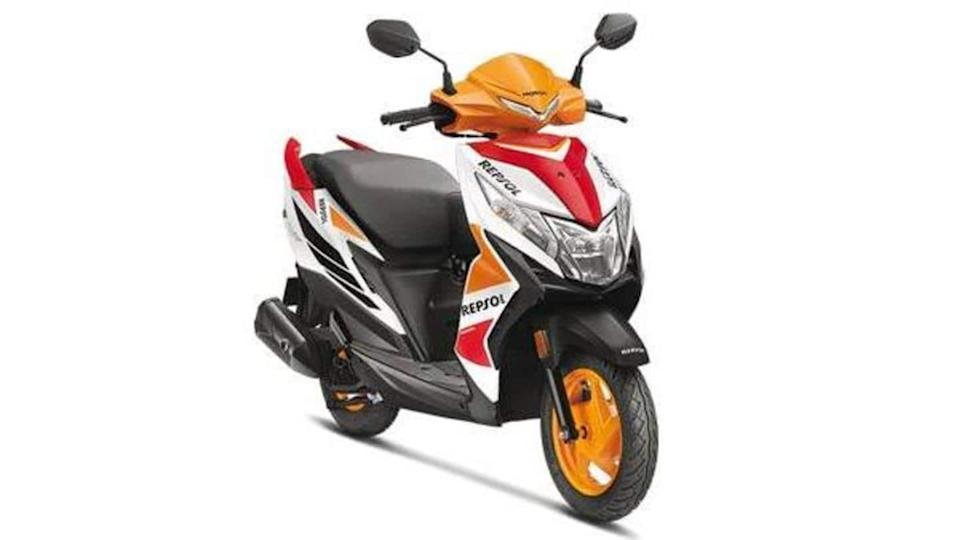 Limited-run Honda Dio Repsol edition launched at Rs. 70,000