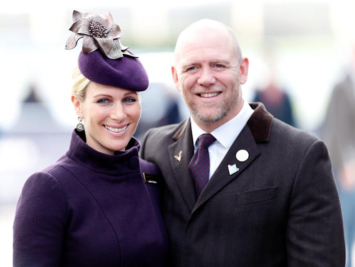 Zara Tindall and Mike Tindall in 2020.