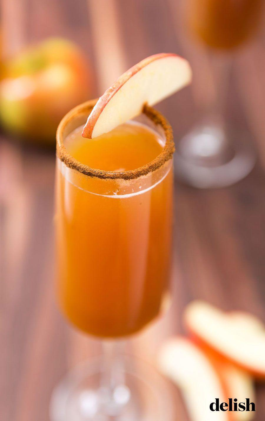 "<p>Switch up your mimosa game with this apple cider version. </p><p>Get the recipe from<a href=""https://www.delish.com/cooking/recipe-ideas/recipes/a46963/apple-cider-mimosas-recipe/"" rel=""nofollow noopener"" target=""_blank"" data-ylk=""slk:Delish"" class=""link rapid-noclick-resp"">Delish</a>.</p>"