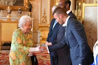 """<p>If you're seated next to the Queen at dinner, you should follow her lead and <a href=""""https://www.youtube.com/watch?v=wByG0bMd8lg&feature=youtu.be"""" rel=""""nofollow noopener"""" target=""""_blank"""" data-ylk=""""slk:wait until she turns to speak to you"""" class=""""link rapid-noclick-resp"""">wait until she turns to speak to you</a> before initiating conversation.</p>"""