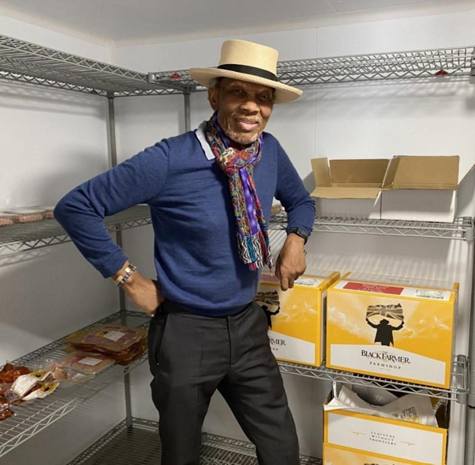 Wilfred is now a successful businessman with his brand, The Black Farmer. (Collect/PA Real Life)