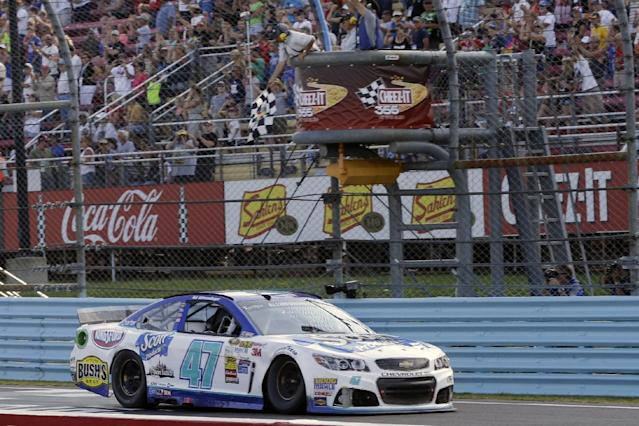 A.J. Allmendinger holds off Marcos Ambrose for Watkins Glen win
