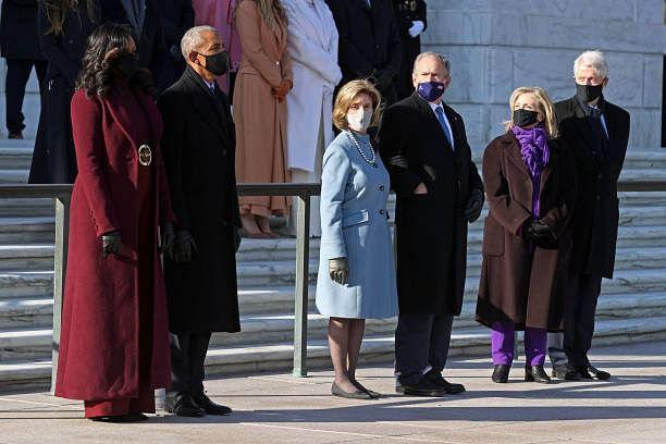 Former Presidents and their First Ladies