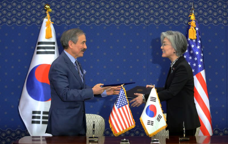 Exclusive: U.S. ambassador to South Korea is discussing plans to resign - sources