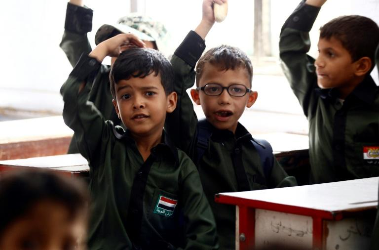 UNICEF estimates 4.5 million children risk losing access to state schools in Yemen