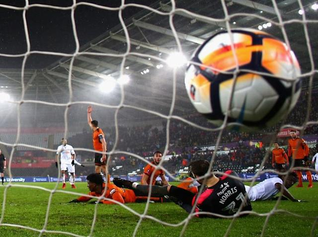 Wilfried Bony grabs winner against Wolves to send Swansea into FA Cup fourth round