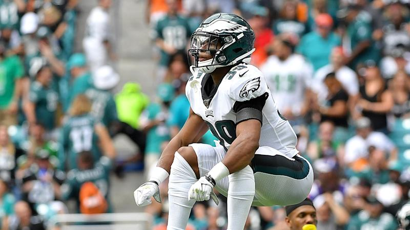 Source: Eagles sign CB Craig James to a 1-year extension