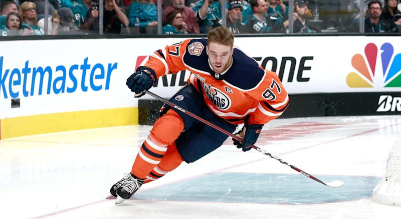 Can any skaters take McDavid's crown? (Getty)
