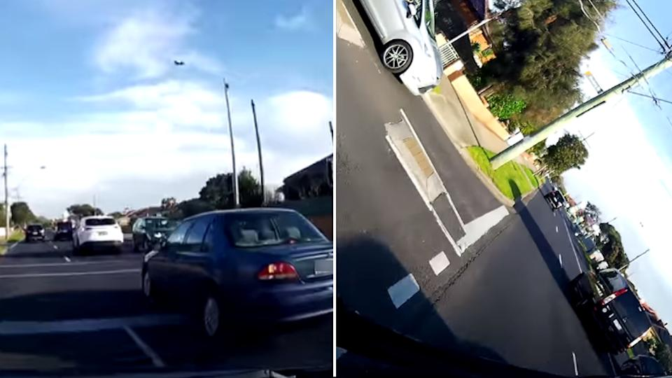 a crash from dash cam owners australia