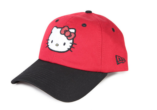 6dbde54ab Now you can keep your hair tucked away under the warm red embrace of Hello  Kitty.