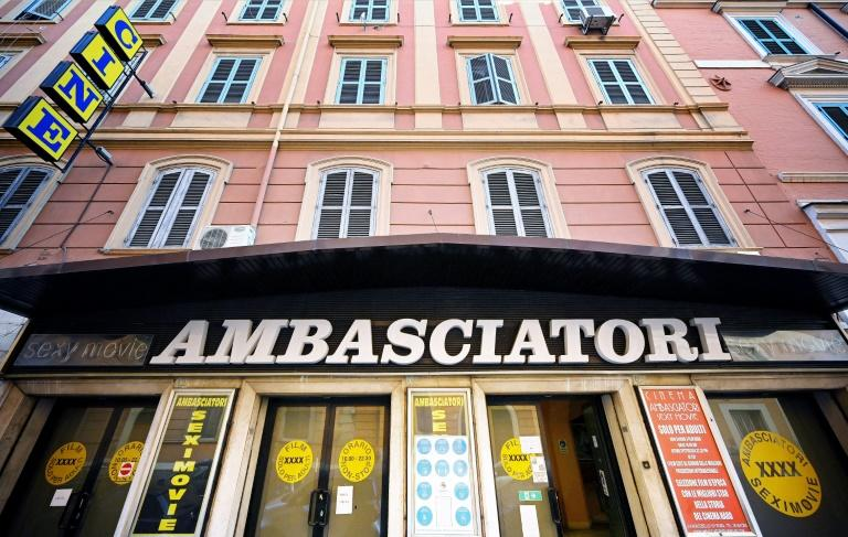 Rome's last adult movie cinema, the Ambasciatori, reopened its doors after Italy began easing its lockdown restrictions