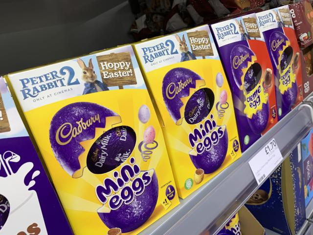 The Co-op has started stocking up on sweet treats for Easter Sunday on April 12, 2020. [Photo: SWNS]