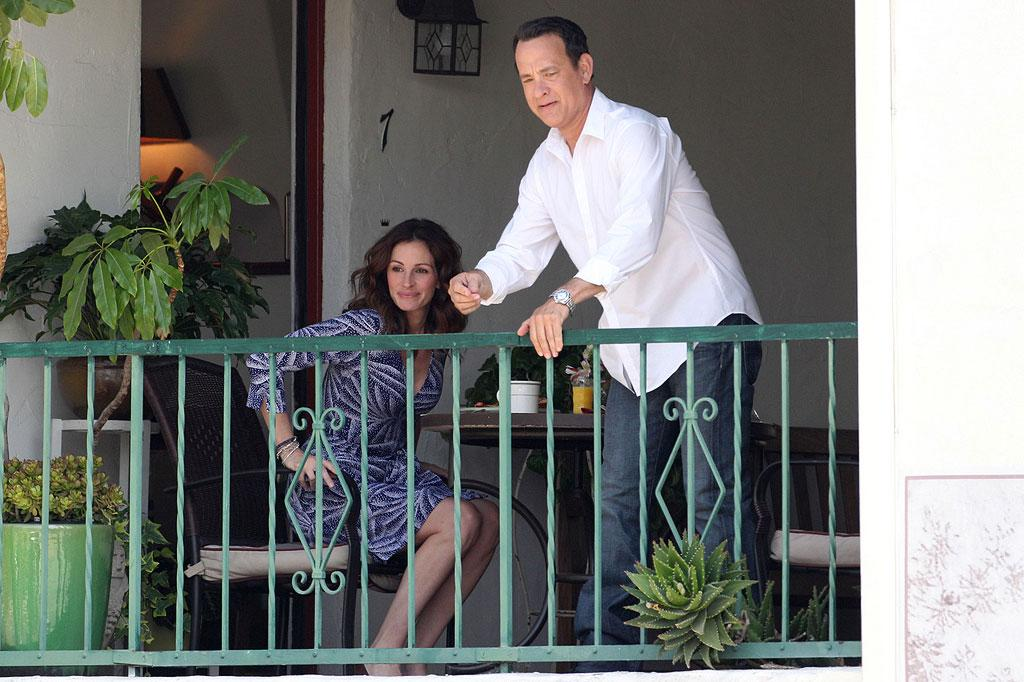 "Just add two Oscar winners, a script by Tom Hanks, a dash of America's Sweetheart and you have a surefire recipe for success! James Breeden/Matt Smith/<a href=""http://www.pacificcoastnews.com/"" target=""new"">PacificCoastNews.com</a> - June 4, 2010"