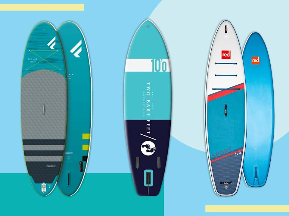 Wider boards can provide more stability while your confidence grows (iStock/The Independent )