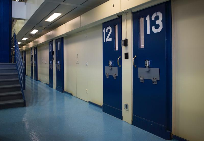 ail cells are seen in the Enhanced Supervision Housing Unit at the Rikers Island Correctional facility