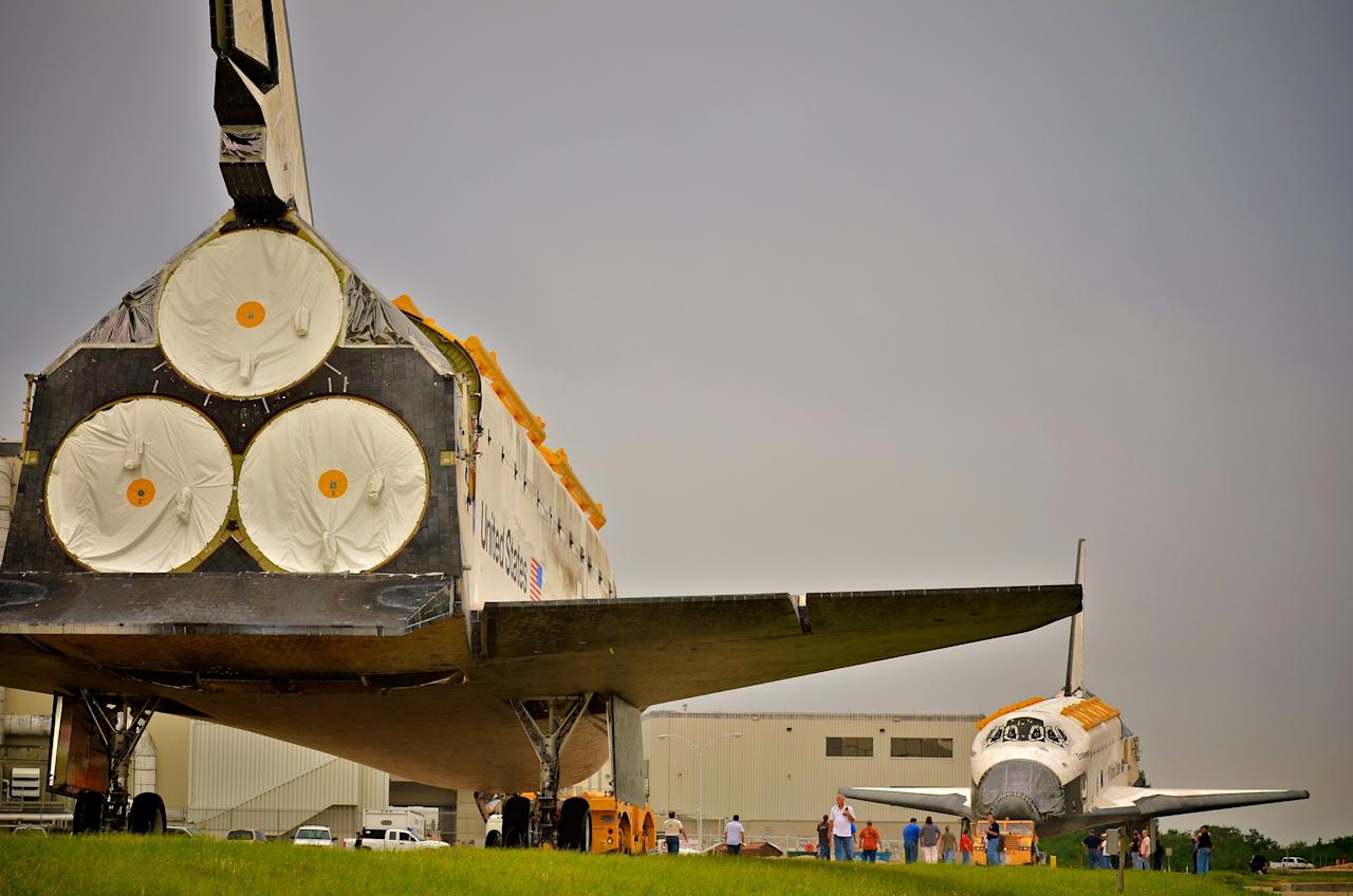 space shuttle discovery location - photo #9