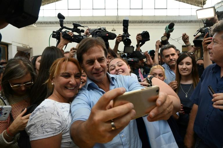 Partido Nacional candidate Luis Lacalle gained crucial support from center-right and right-wing parties in his presidential bid