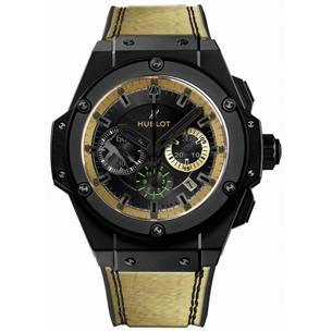 Hublot King Power Usain Bolt - In celebration of his Olympic gold conquest, the world's fastest man gets his own timepiece with the Hublot King Power Usain Bolt. The production run is limited to 250 pieces.