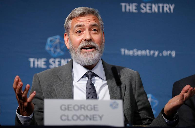 """George Clooney said the """"only one way in this country to bring lasting change"""" is to vote. (Photo: ASSOCIATED PRESS)"""