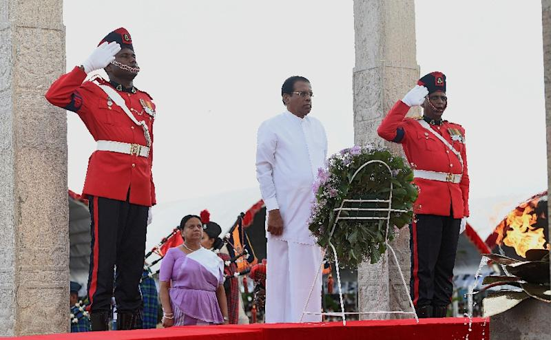 Sri Lankan President Maithripala Sirisena Sirisena came to power in January 2015 on the back of strong support from the minority Tamil community